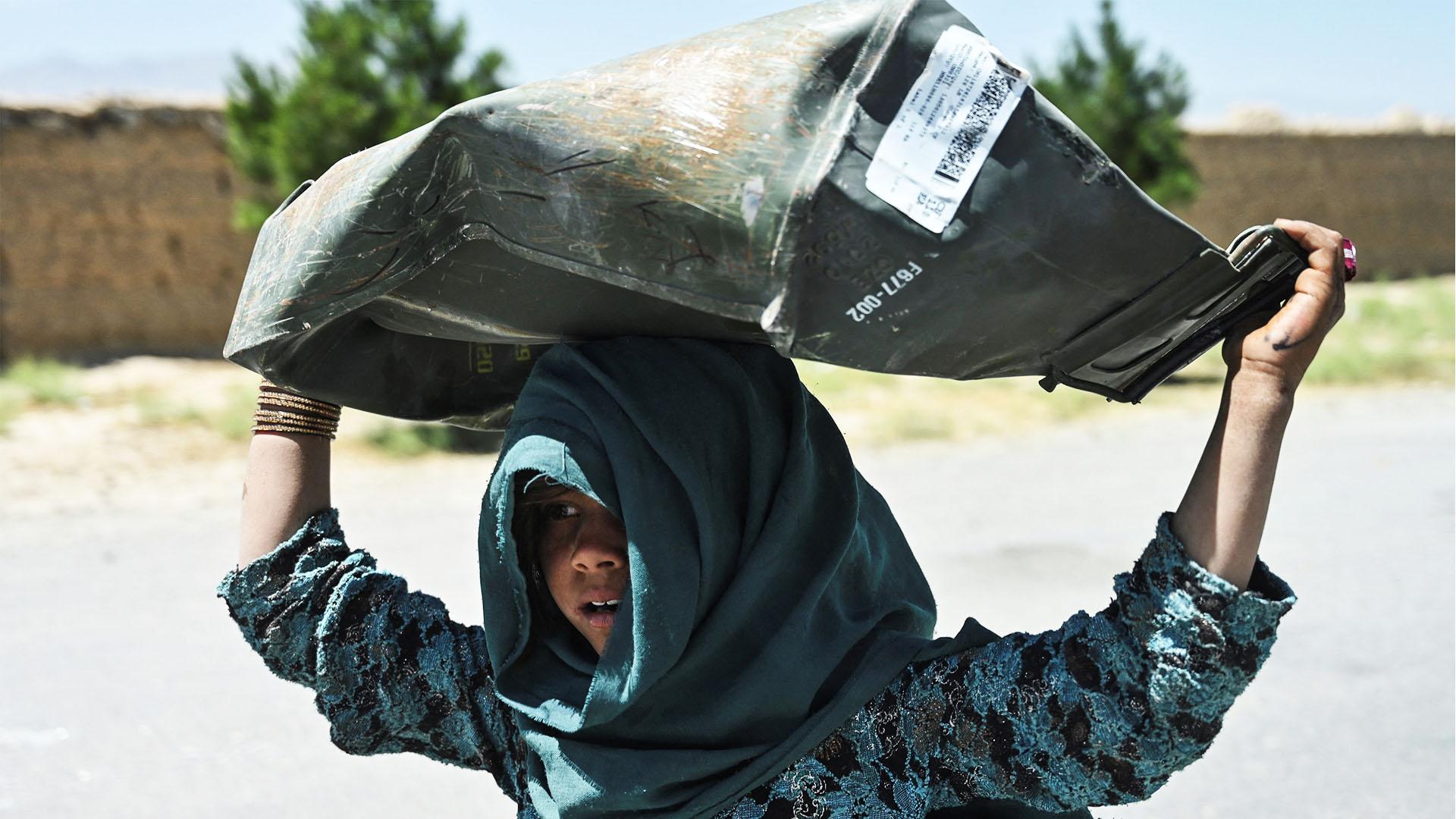 Афганцы жалуются на кризис и нищету