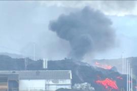 Вулкан сжёг цементный завод