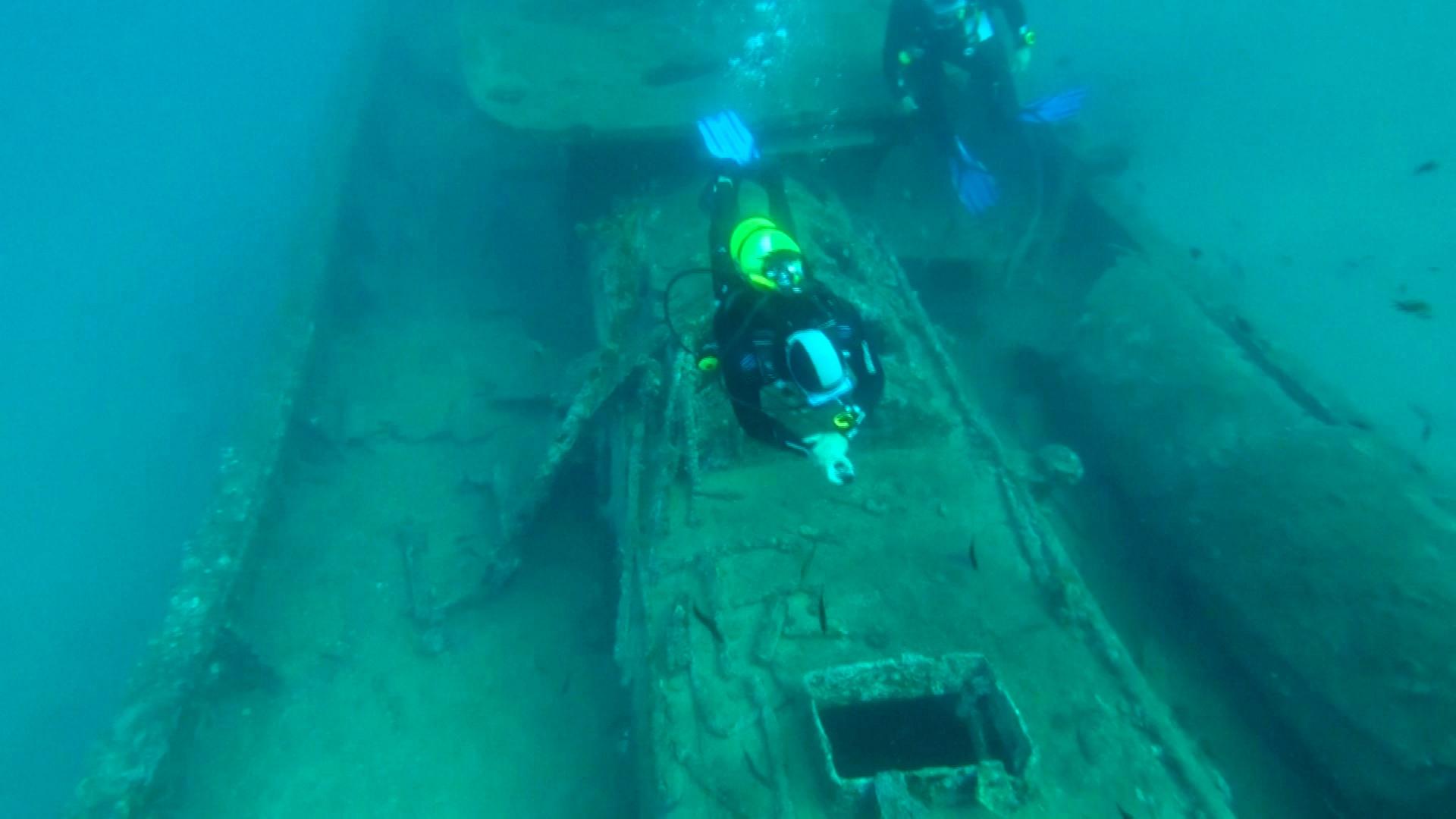 100 лет на дне: музей затонувших военных кораблей открылся в Турции