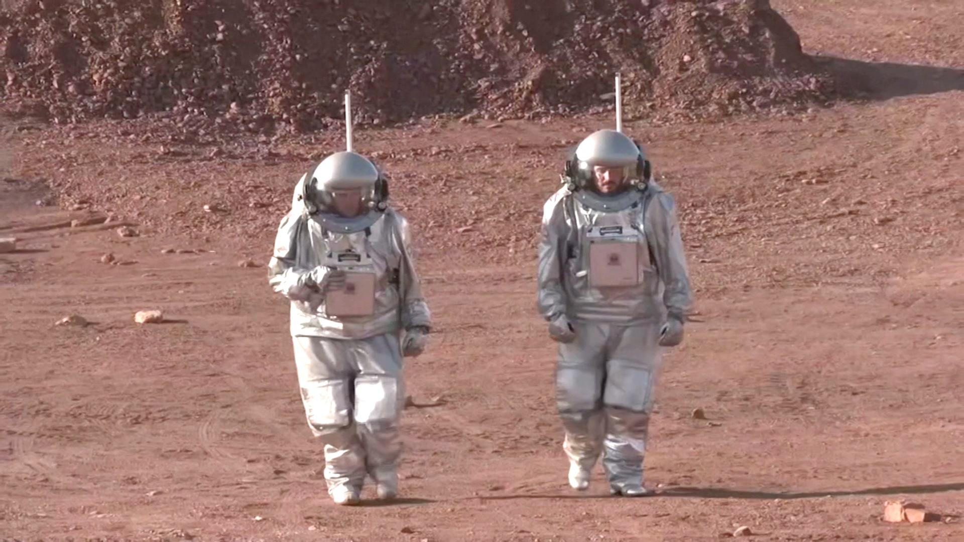 Как на Марсе: в Израиле имитируют жизнь на Красной планете