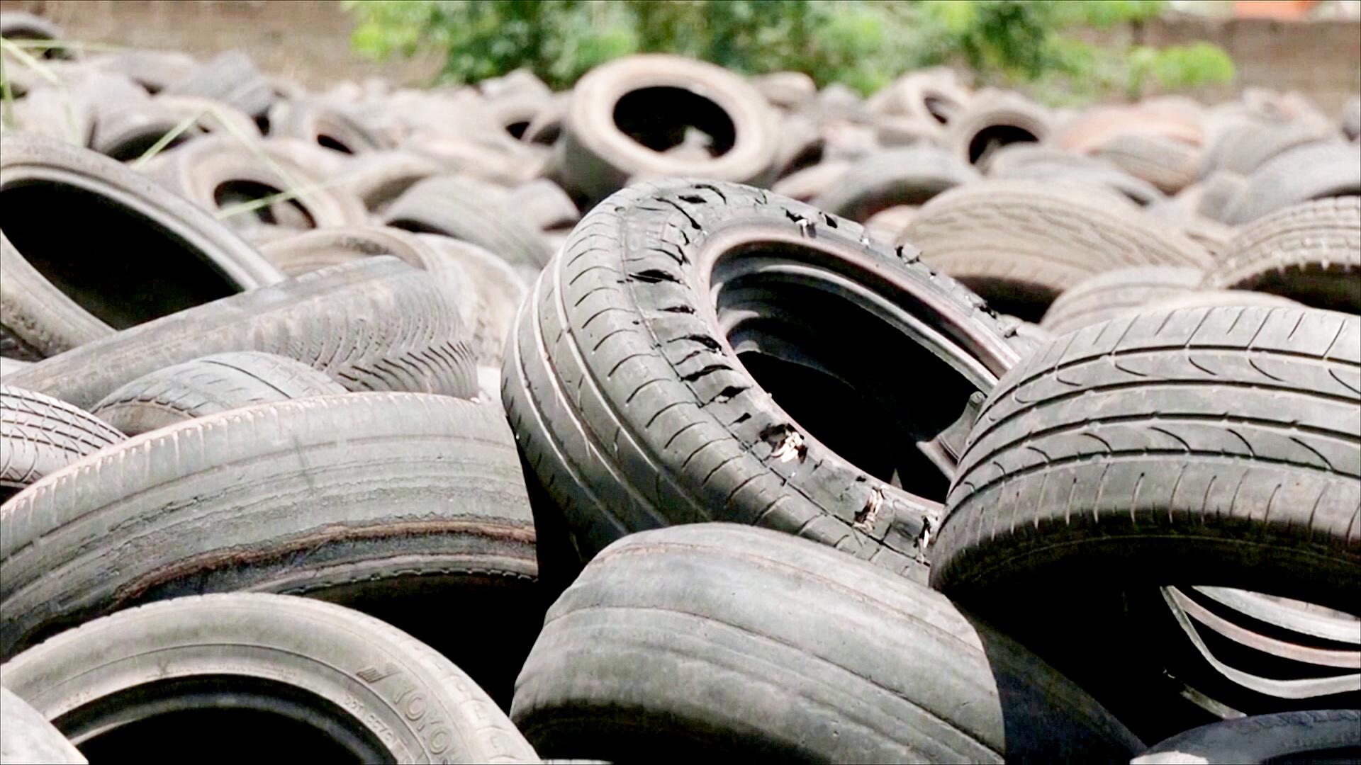 Нигерийская компания превращает шины в «чёрное золото»