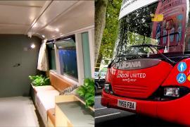 Лондонские автобусы превращают в пункты помощи бездомным