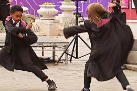 Как Гарри Поттер: юных лондонцев учат владеть волшебной палочкой