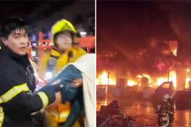 Пожар в многоэтажке на Тайване: 46 погибших
