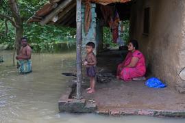 Наводнения и оползни в Индии: более 20 погибших