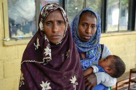 Эфиопцы рассказывают о голоде и изнасилованиях в зоне военного конфликта