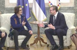 Джонни Депп встретился с президентом Сербии