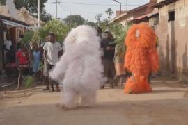 Как в Гамбии проводят древний обряд посвящения мальчиков