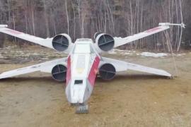 Истребитель из «Звёздных войн» приземлился в Якутске