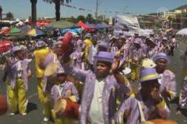 Парад прошел в бывший выходной для рабов