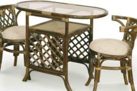 Какими свойствами обладает плетеная мебель из ротанга