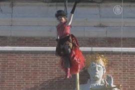 Венецианский карнавал – «полёт ангела»