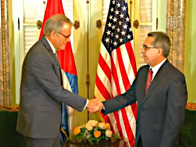 Куба и США восстановили дипломатические связи