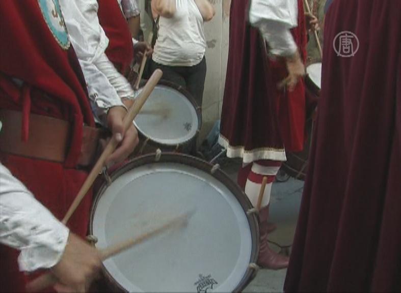 Средневековый праздник собирает любителей старины