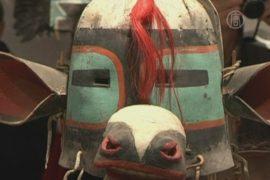 Племя требует вернуть ритуальные маски