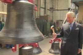 Принц Чарльз проинспектировал юбилейные колокола