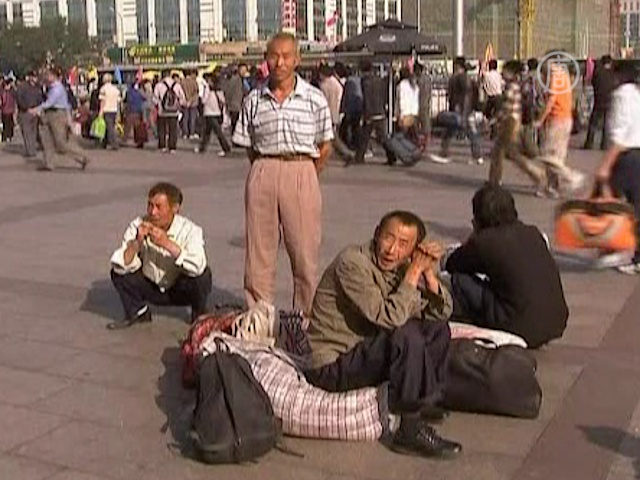 Китайцы бегут из Китая