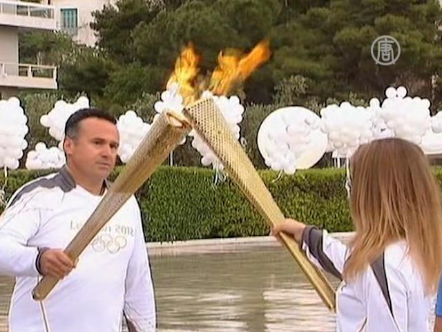 Великобритания заполучила Олимпийский огонь