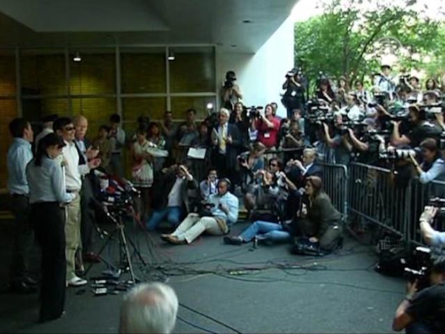 Первая речь диссидента Чэнь Гуанчэна в Нью-Йорке