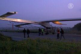 Solar Impulse долетит до Марокко без топлива