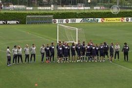 Итальянских футболистов арестовывает полиция