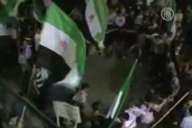 Сирийцы выступают с осуждением бойни в Хуле