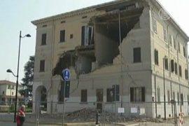 В Италии снова землетрясение, есть жертвы