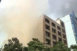В Найроби прогремел взрыв в торговом центре