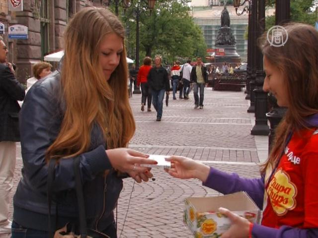 В Петербурге сигареты меняли на конфеты