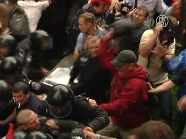 В Украине протестуют против закона о языках