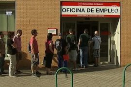 Безработных испанцев в мае стало немного меньше