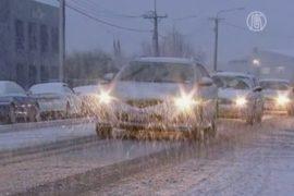 Новую Зеландию заметает снегом