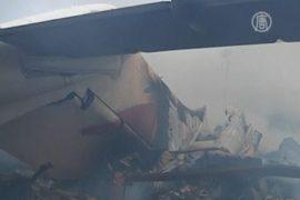 Самолет в Нигерии рухнул из-за отказа двигателей