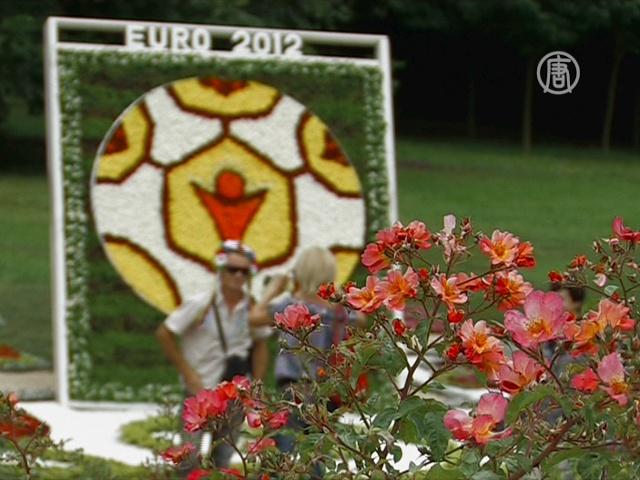 Выставка цветов к Евро-2012 открылась в Киеве