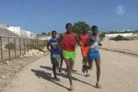 Атлеты в Сомали готовятся к Олимпиаде среди руин