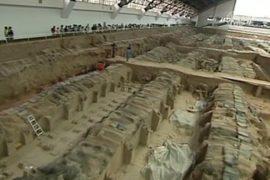 В гробнице Цинь Шихуанди найдены новые предметы