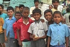 Индийские дети мечтают о школе