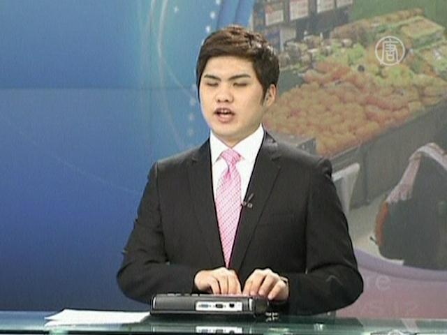 Слепой диктор ведет новости в Южной Корее