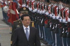 Дания: репортера арестовали за вопрос к Ху Цзиньтао
