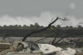 По Японии пронесся тайфун «Гучол», есть жертвы