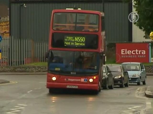 В Лондоне на день не стало двухэтажных автобусов