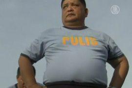 Тучные полицейские начинают борьбу с калориями