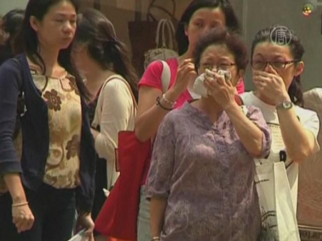 Дышать в Гонконге становится все труднее