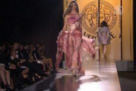 Показ Versace посмотрели Альба и Броснан