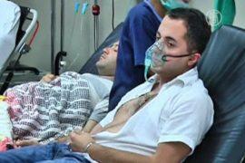 Утечка хлора в Тбилиси, пострадало 70 человек
