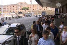 Итальянцы привыкают к забастовкам транспортников