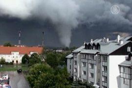 На Польшу обрушились торнадо, 1 человек погиб