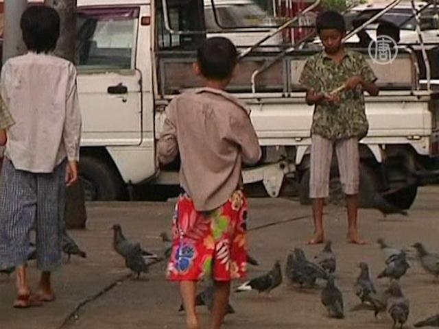 Торговля детьми — обратная сторона реформ в Мьянме