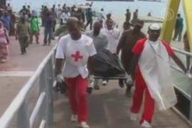 У Занзибара затонул паром: 100 пропавших без вести
