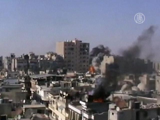 Бои за Дамаск и Алеппо продолжаются